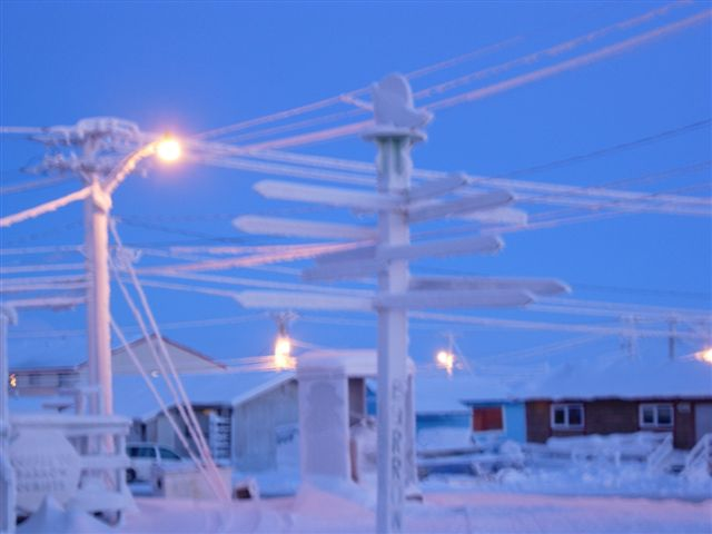 barrow  alaska is a dull
